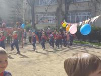 """Проведение первого тура """"Первые шаги в футболе"""" 06.04.2018"""